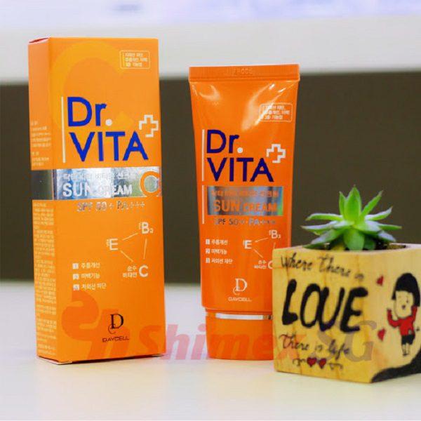 Kem Chống Nắng Dr Vita Vitamin Sun Cream