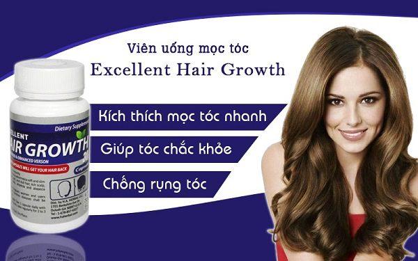 Viên Uống Mọc Tóc Excellent Hair