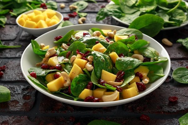 Ăn Dứa Giảm Cân Salad