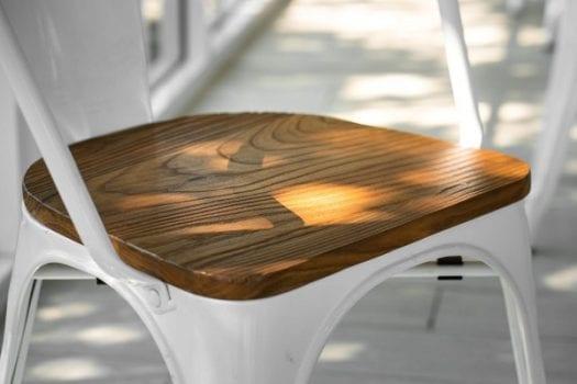 Bàn ghế gỗ sồi vân gỗ