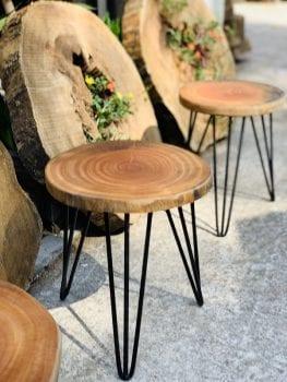 Bàn ghế gỗ xà cừ