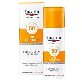 Kem Chống Nắng Kiểm Soát Nhờn Cho Da Dầu Eucerin Sun Gel-Creme Oil Control Dry Touch Spf 50 (50 Ml)