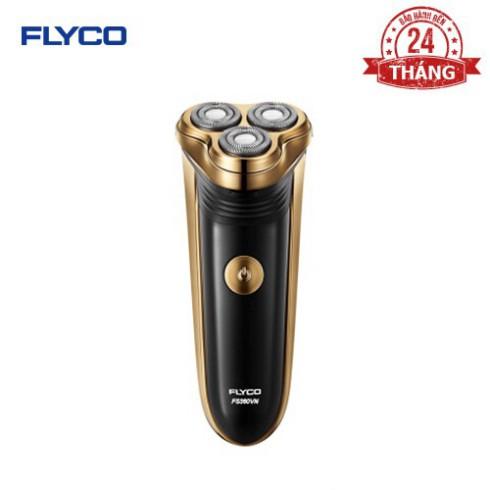 Máy Cạo Râu Flyco 3 Lưỡi Kép Fs360Vn Hàng Chính Hãng - Đinh Tạo -