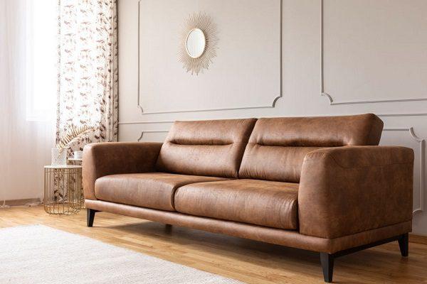 Sofa Da Đơn Sắc