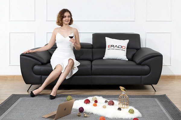 Sofa Da Ở Erado