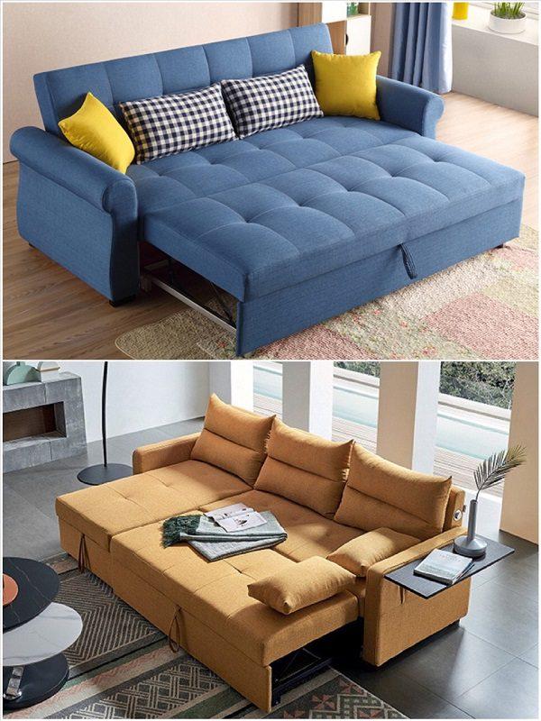 Sofa Giường Vải, Vải Nỉ