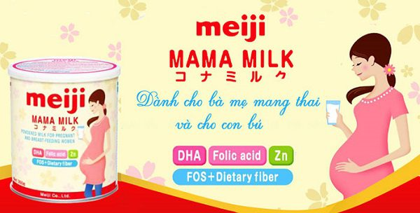 Sữa Bầu Meiji