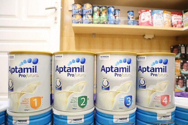 Sữa Cho Trẻ Sơ Sinh Sữa Bột Công Thức Aptamil