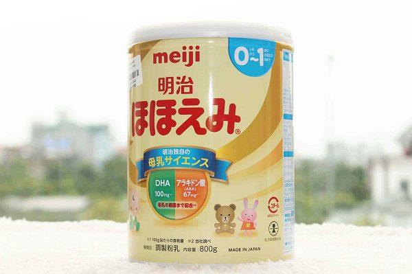 Sữa Nào Tốt Cho Trẻ Sơ Sinh Meiji