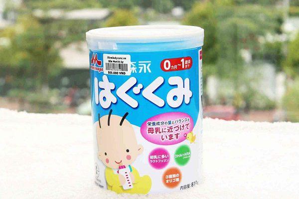 Sữa Tốt Cho Bé Sơ Sinh Morinaga Số 0