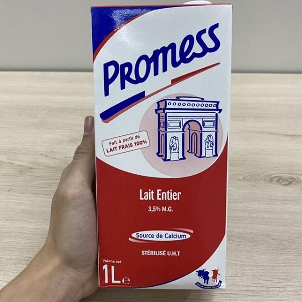 Sữa Không Béo Promess Pháp