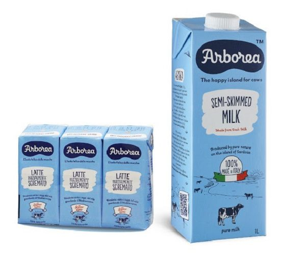 Sữa Tách Béo Arborea Của Ý Giá Bán