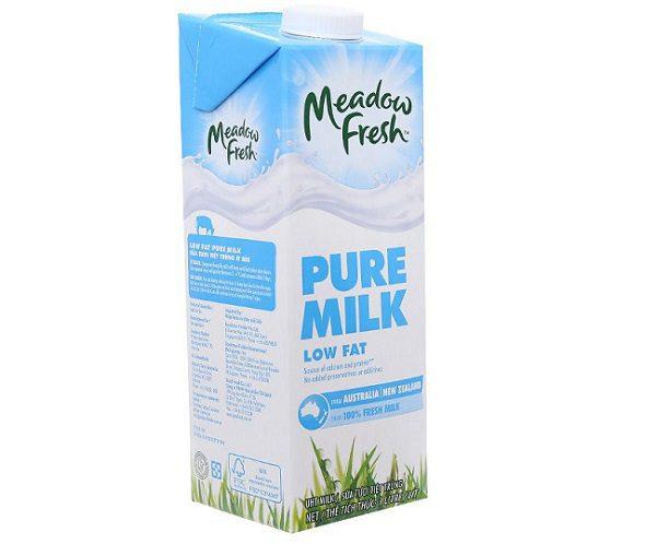 Sữa Tươi Tách Béo Không Đường Meadow Fresh Giá Bán