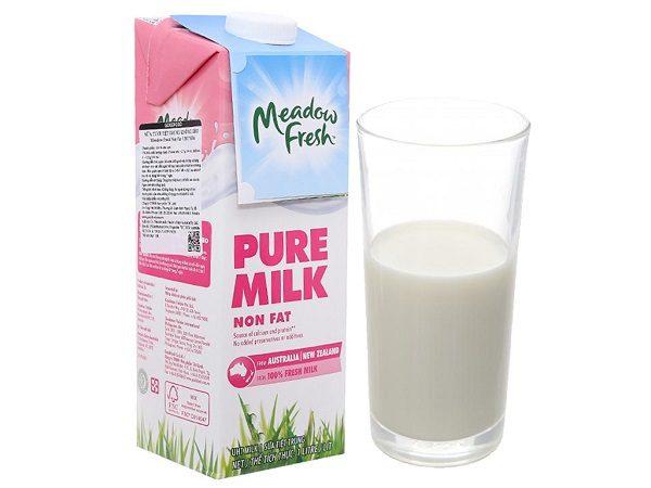 Sữa Tươi Tách Béo Không Đường Meadow Fresh