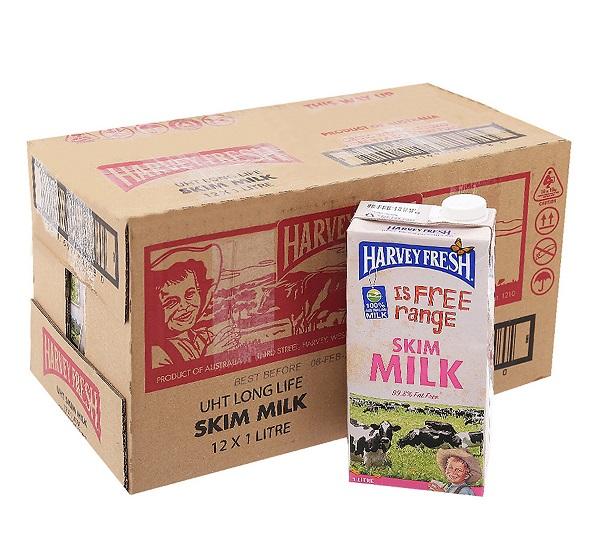 Sữa Tươi Không Béo Harvey Fresh Giá Bán