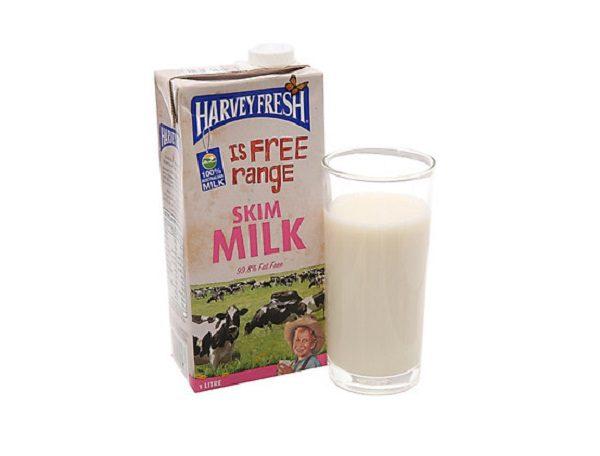 Sữa Tươi Không Béo Harvey Fresh
