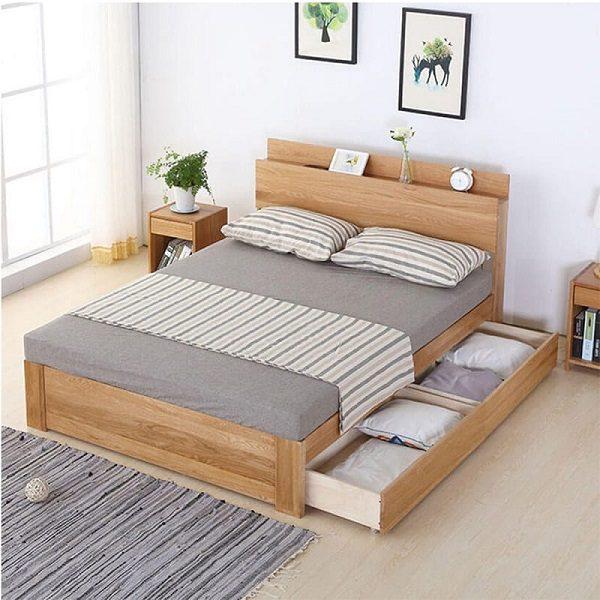 Giường Ngủ Giá Rẻ Chân Thấp