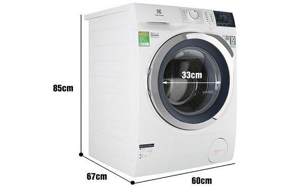 Kích Thước Máy Giặt Cửa Ngang