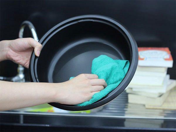 Vệ Sinh, Rửa Sạch Nồi Sau Khi Sử Dụng