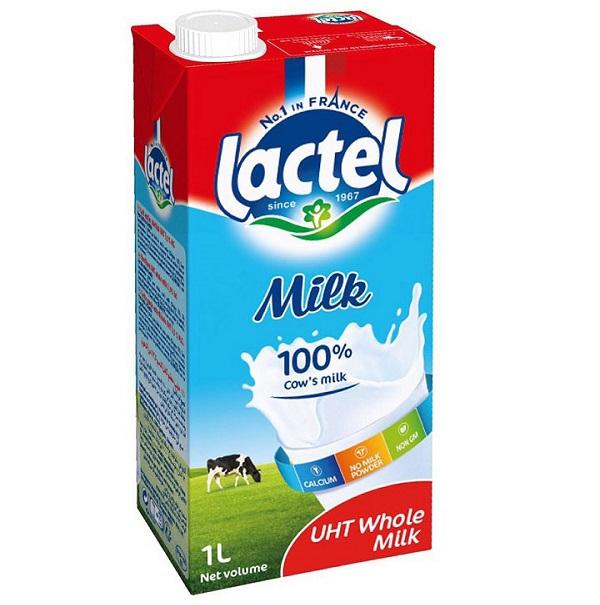 Sữa Tách Béo Không Đường Lactel Thành Phần