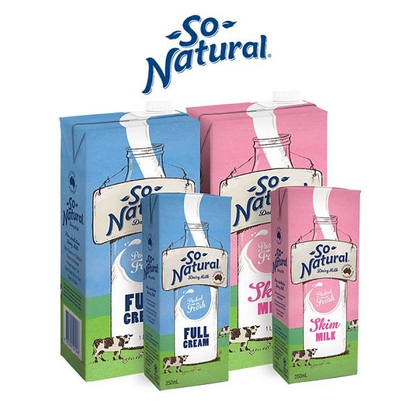 Sữa Tươi Tách Béo So Natural - Úc