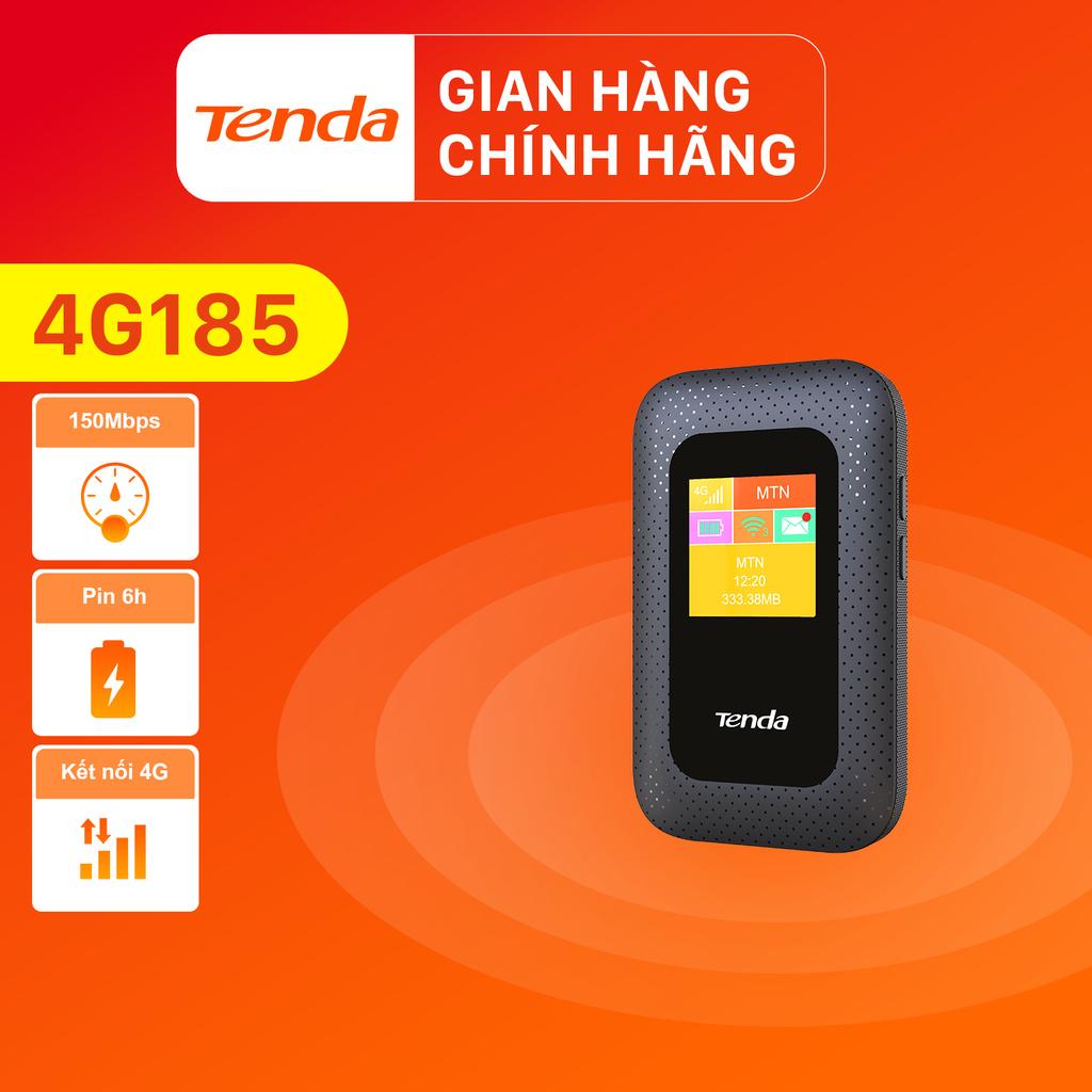 Tenda Bộ Phát Wifi Di Động 4G Lte 4G185 - Hãng Phân Phối Chính Thức
