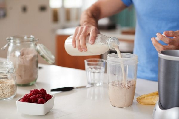 Yến Mạch Kết Hợp Với Sữa Hạnh Nhân Không Đường