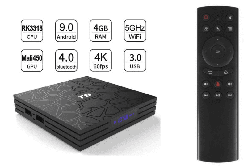 Android Tv Box T9 Pro