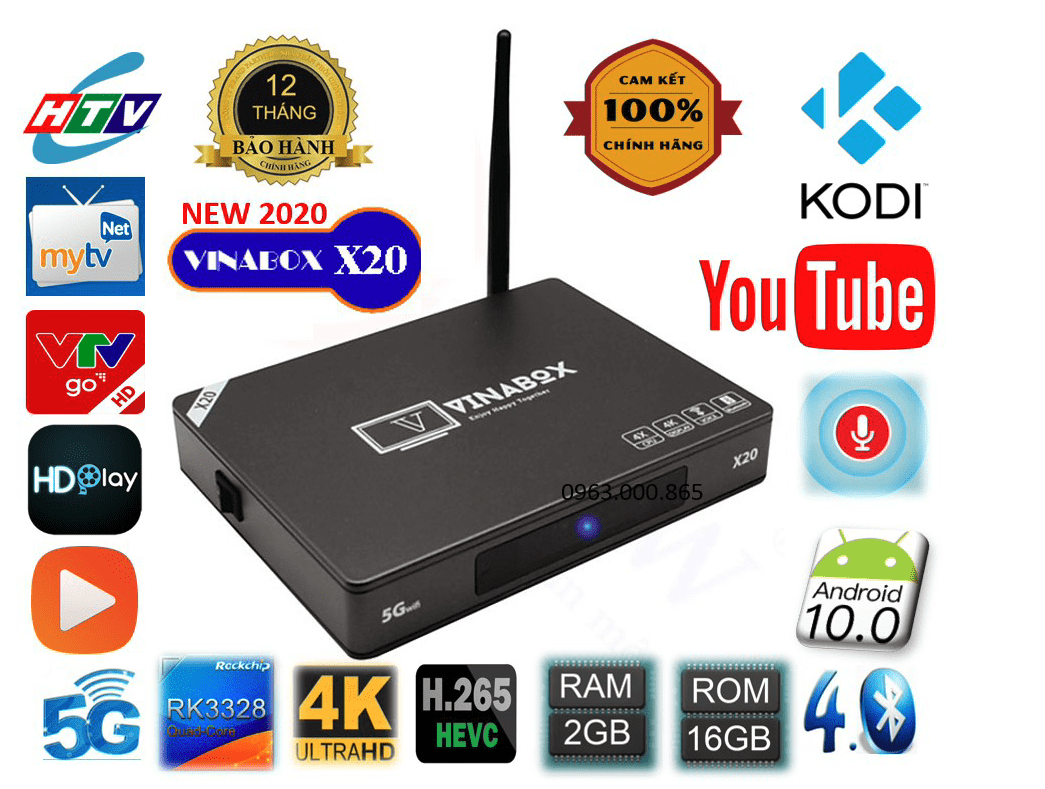 Android Tv Box Vinabox X20