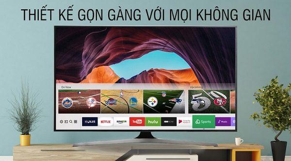 Smart Tivi Samsung 43 Inch 4K Ua43Mu6100Kxxv Gọn Gàng