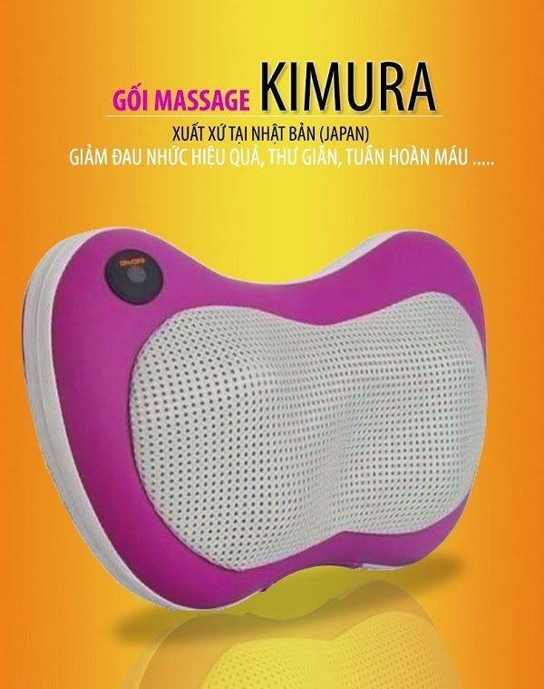 Gối Massage Hồng Ngoại Nhật Bản Kimura
