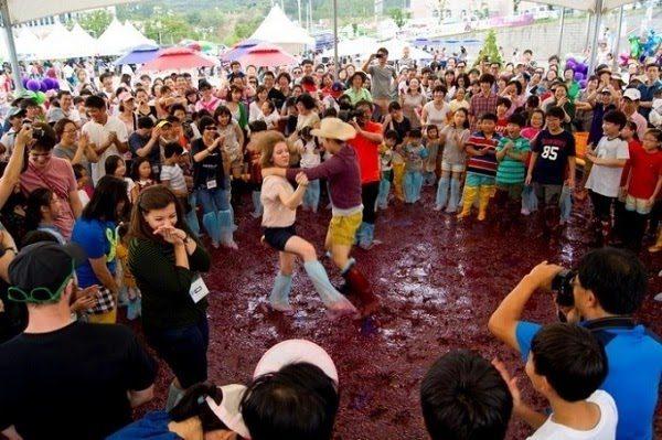 Lễ Hội Nho Yeongdong Hàn Quốc
