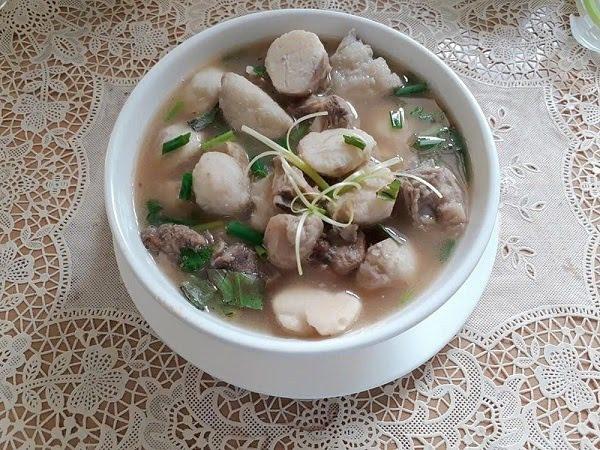 Món Ăn Mùa Đông Khoai Sọ