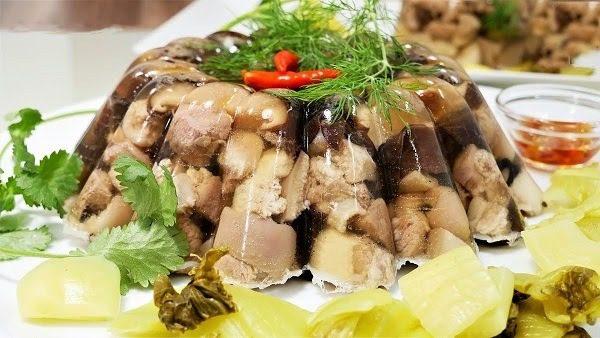 Món Ăn Mùa Đông - Thịt Đông