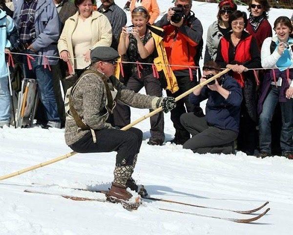 Lễ Hội Trượt Tuyết Ở Nga