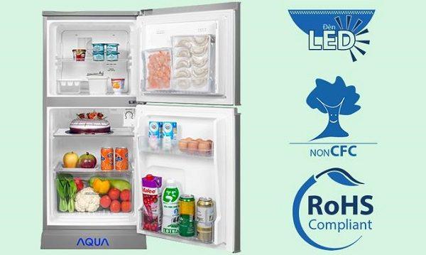 Đánh Giá Tủ Lạnh Mini Không Đóng Tuyết Aqua Aqr-125En