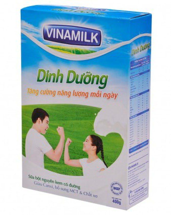 Sữa Nguyên Kem Vinamilk Tăng Cân