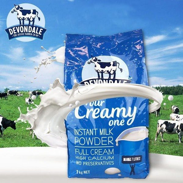 Sữa Tăng Cân Devondale Đánh Giá