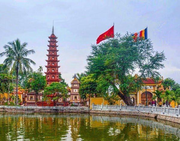 Cảnh Đẹp Việt Nam Chùa Trấn Quốc