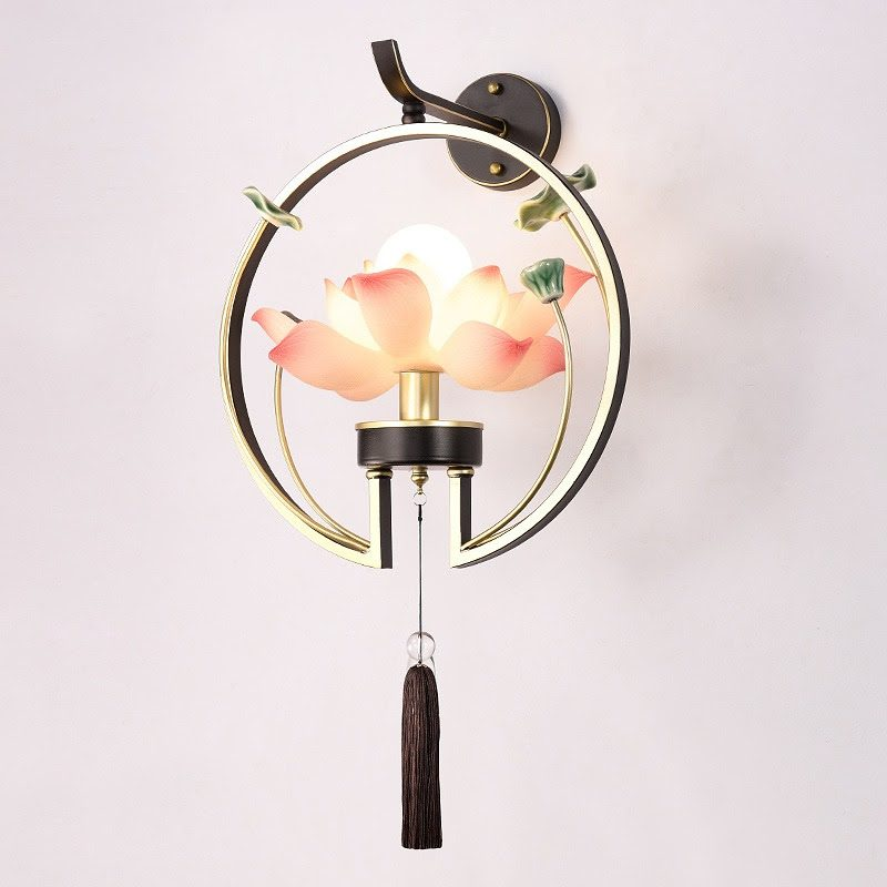 Đèn Bàn Ăn Hình Hoa