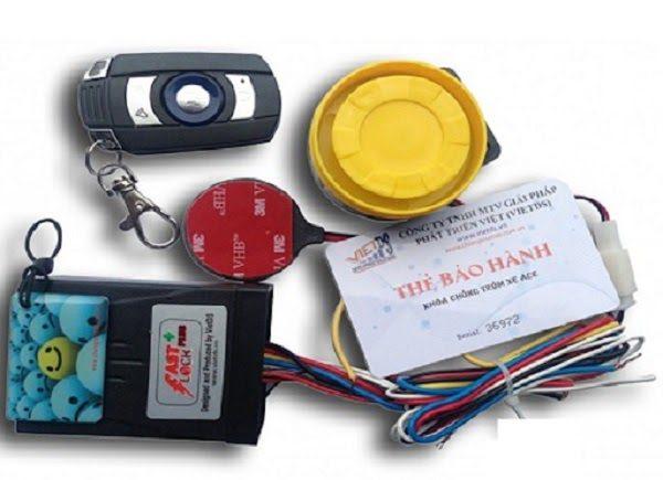 Khoá Xe Máy Chống Trộm Fast Lock Plus