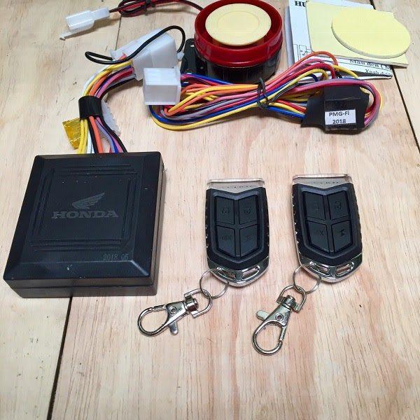 Khóa Chống Trộm Xe Máy Honda - Feey 2 Remote