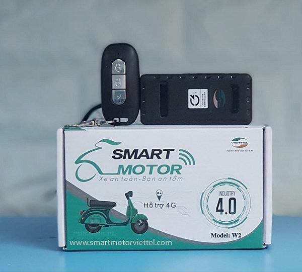 Thiết Kế Khóa Chống Trộm Xe Máy Viettel - Smart Motor