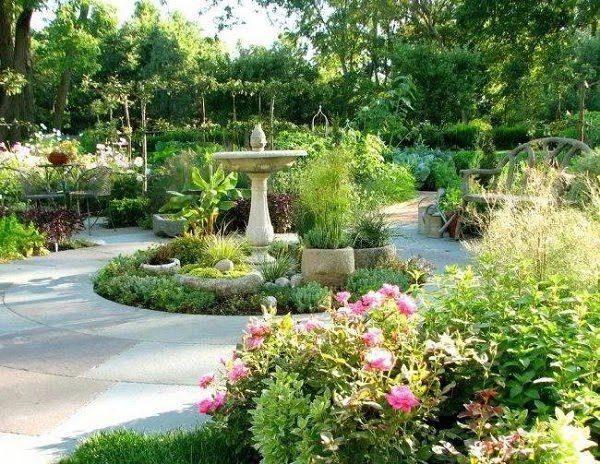 Sân Vườn Đẹp Kiểu Châu Âu 2