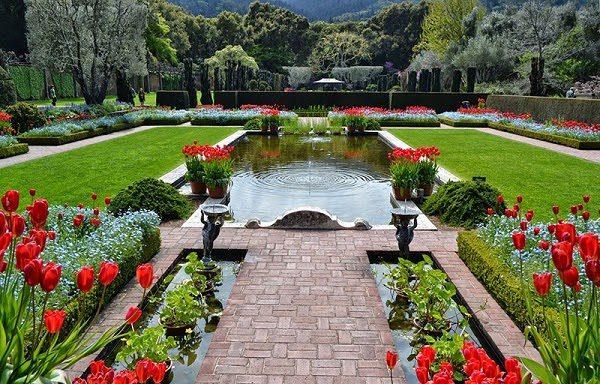 Sân Vườn Đẹp Kiểu Châu Âu 4
