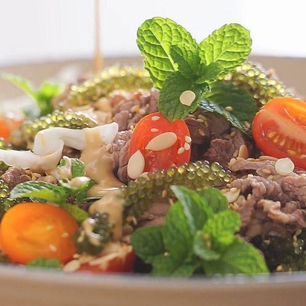 Steak Rong Nho