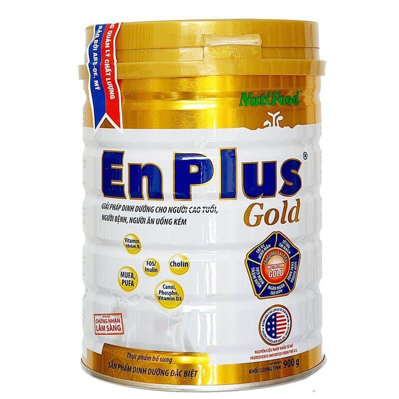 Sữa Bột Tăng Cân Enplus Gold Nutifood Đánh Giá