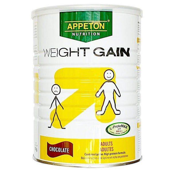 Sữa Tăng Cân Appeton Weight Gain Đánh Giá