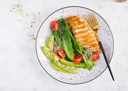 Thực đơn bữa trưa giảm cân