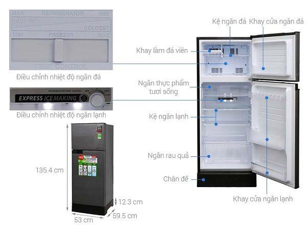 Tủ Lạnh Sharp Chức Năng